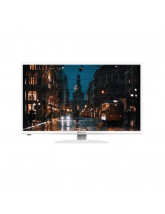 "TV LED 32"" HD DIGITALE TERRESTRE E SATELLITARE - DVB-T2 E DVB-S2 - BIANCO - BOLVA"
